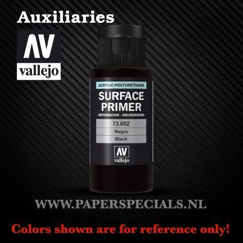 Vallejo - Surface Primer 60ml - 73.602 Black
