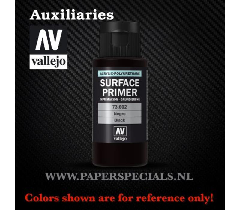 Vallejo - Surface Primer 60ml - 73.602 Black