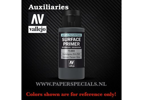 Vallejo Vallejo - Surface Primer 60ml - 73.603 German Panzer Grey