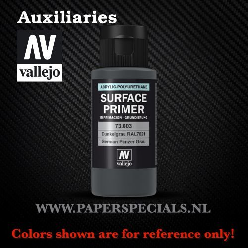 Vallejo - Surface Primer 60ml - 73.603 German Panzer Grey