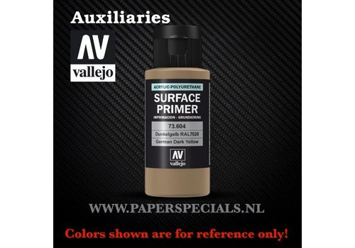 Vallejo Vallejo - Surface Primer 60ml - 73.604 German Dark Yellow