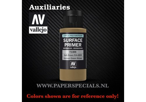Vallejo Vallejo - Surface Primer 60ml - 73.606 German Green Brown