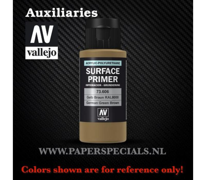 Vallejo - Surface Primer 60ml - 73.606 German Green Brown