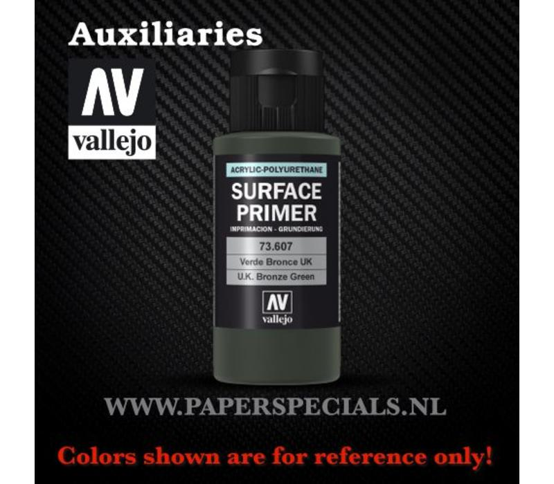 Vallejo - Surface Primer 60ml - 73.607 UK Bronze Green