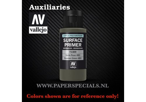 Vallejo Vallejo - Surface Primer 60ml - 73.609 Russian Green 4BO