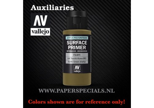 Vallejo Vallejo - Surface Primer 60ml - 73.611 Earth Green (early)