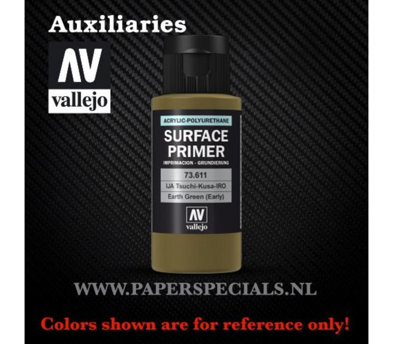 Vallejo - Surface Primer 60ml - 73.611 Earth Green (early)