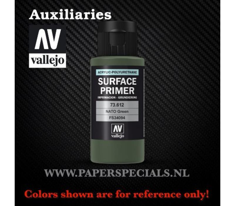 Vallejo - Surface Primer 60ml - 73.612 NATO Green