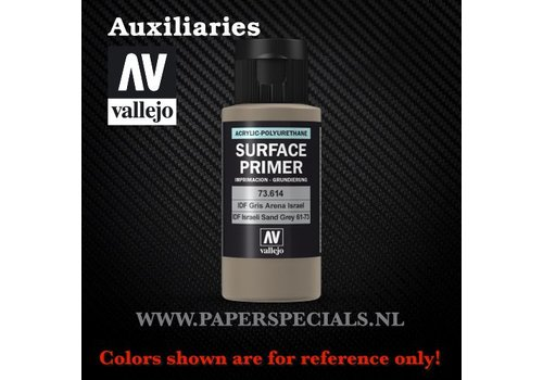 Vallejo Vallejo - Surface Primer 60ml - 73.614 IDF Israeli Sand Grey(61-73)