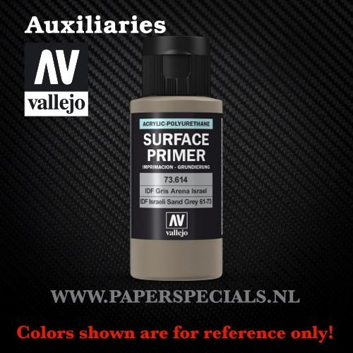 Vallejo - Surface Primer 60ml - 73.614 IDF Israeli Sand Grey(61-73)