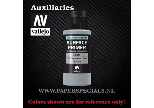 Vallejo Vallejo - Surface Primer 60ml - 73.615 USN Light Ghost Grey