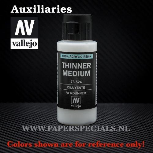 Vallejo - Thinner Medium - 60ml