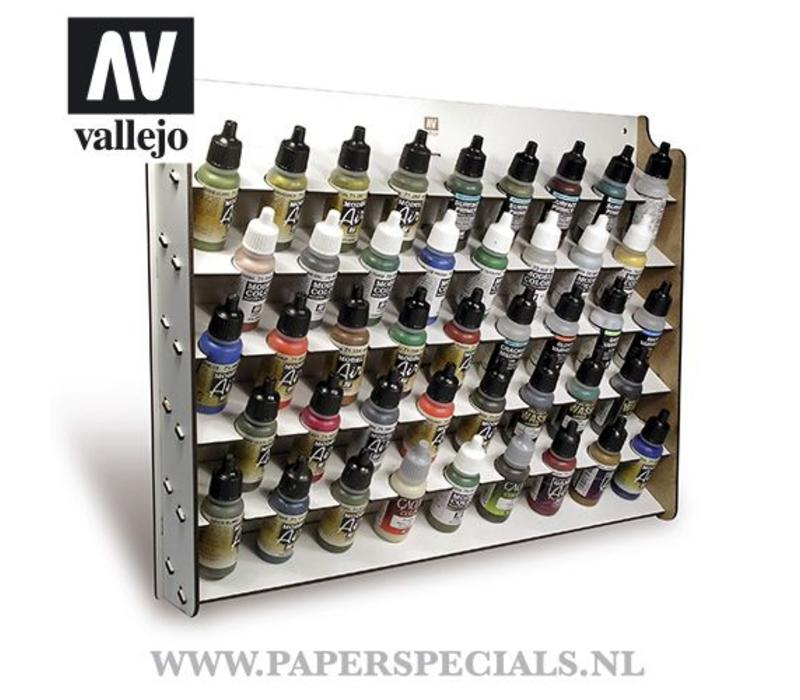 Vallejo - Wall mounted paint display - 17 ml