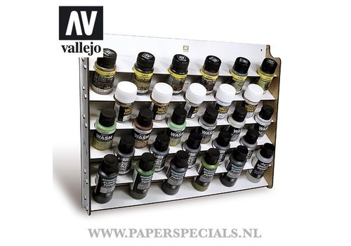 Vallejo Vallejo - Wall mounted paint display - 35/60ml