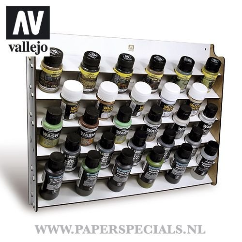 Vallejo - Wall mounted paint display - 35/60ml