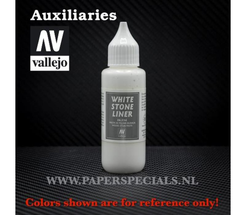 Vallejo - White Stone Liner 30ml