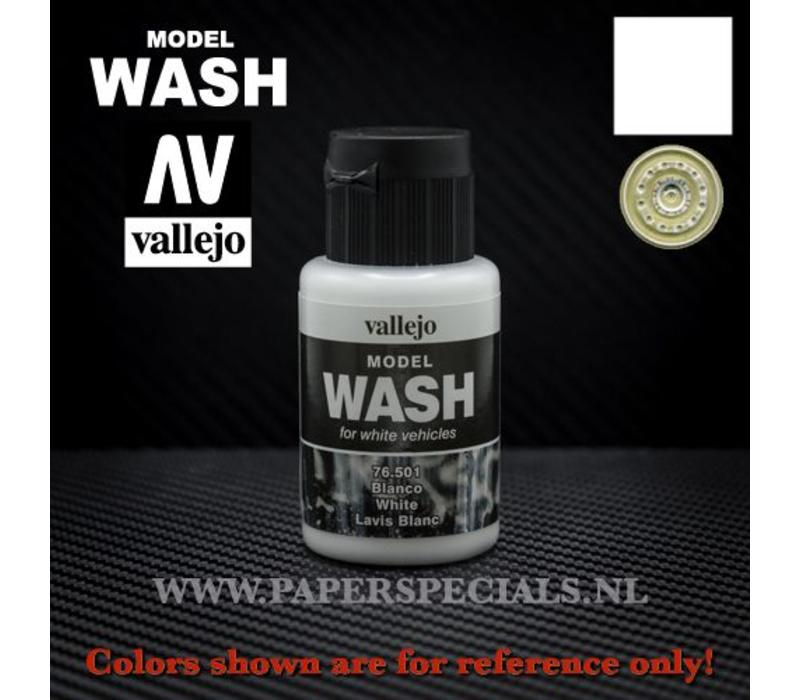 Vallejo - Model Wash 35ml - 76.501 White