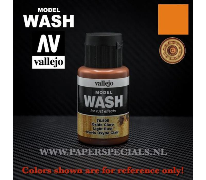 Vallejo - Model Wash 35ml - 76.505 Light Rust