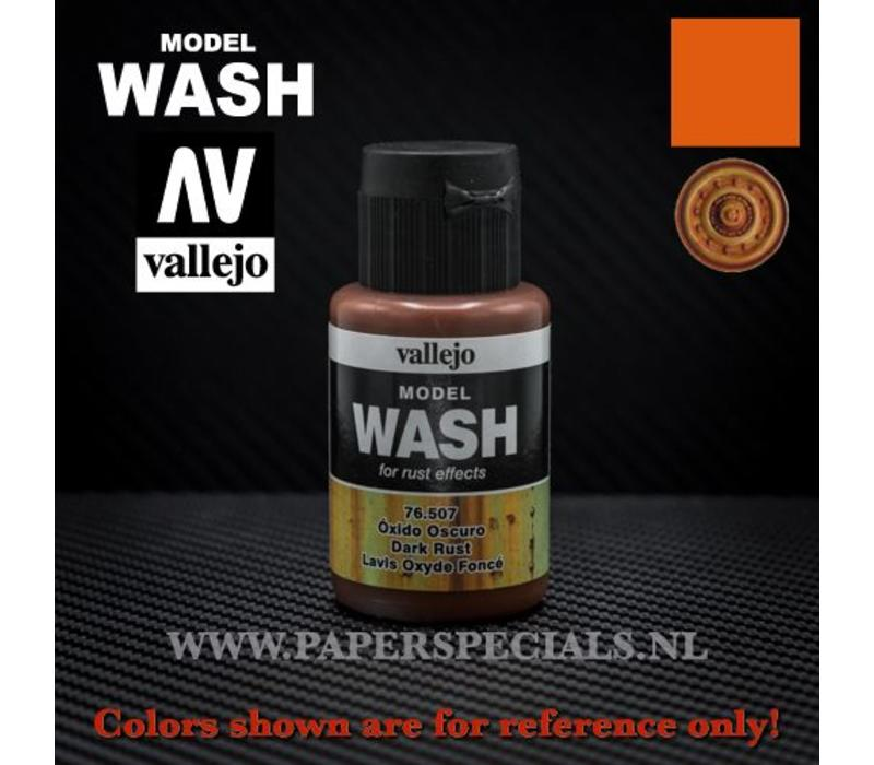 Vallejo - Model Wash 35ml - 76.507 Dark Rust