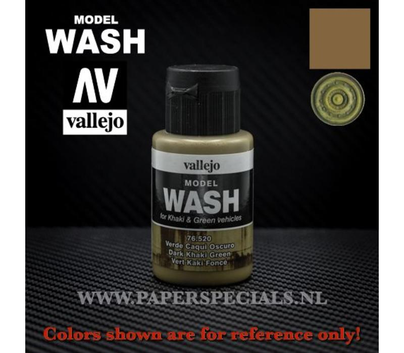 Vallejo - Model Wash 35ml - 76.520 Dark Khaki Green