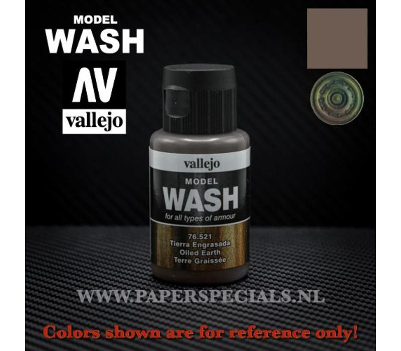 Vallejo - Model Wash 35ml - 76.521 Oiled Earth
