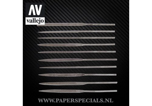 Vallejo Vallejo - Modeling needle files - Set of 10