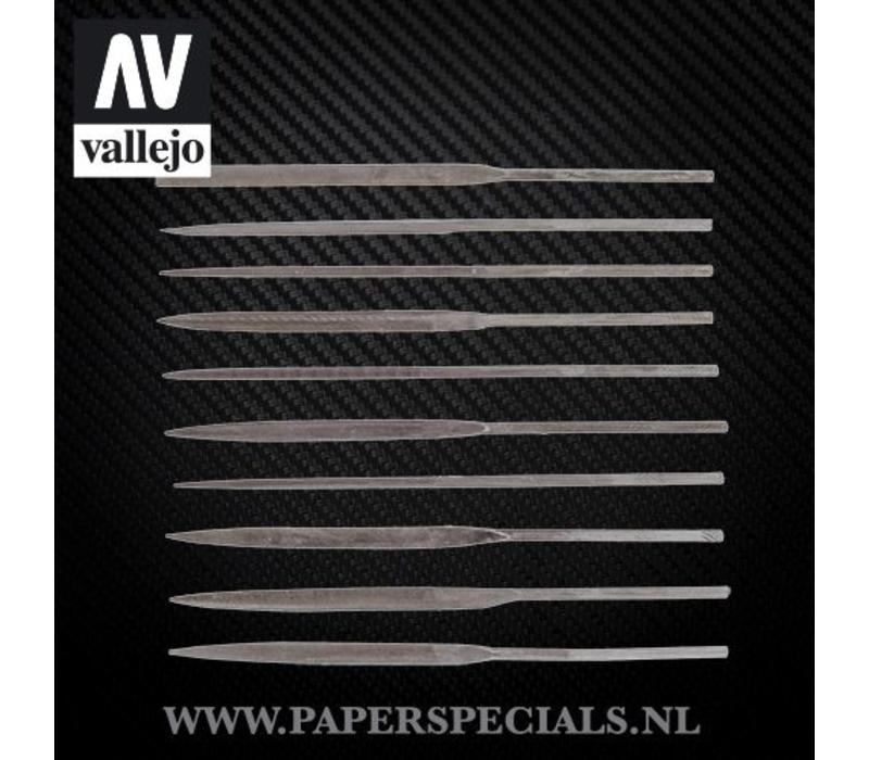 Vallejo - Modeling needle files - Set of 10
