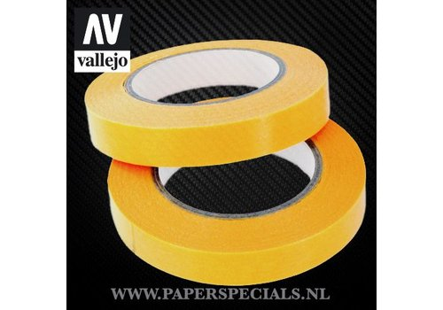 Vallejo Vallejo - Precision Masking Tape 10mm - 2 rolls of 18 meter