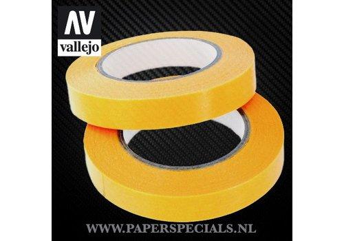 Vallejo Vallejo - Precision Masking Tape 10mm - 2 rollen van 18 meter