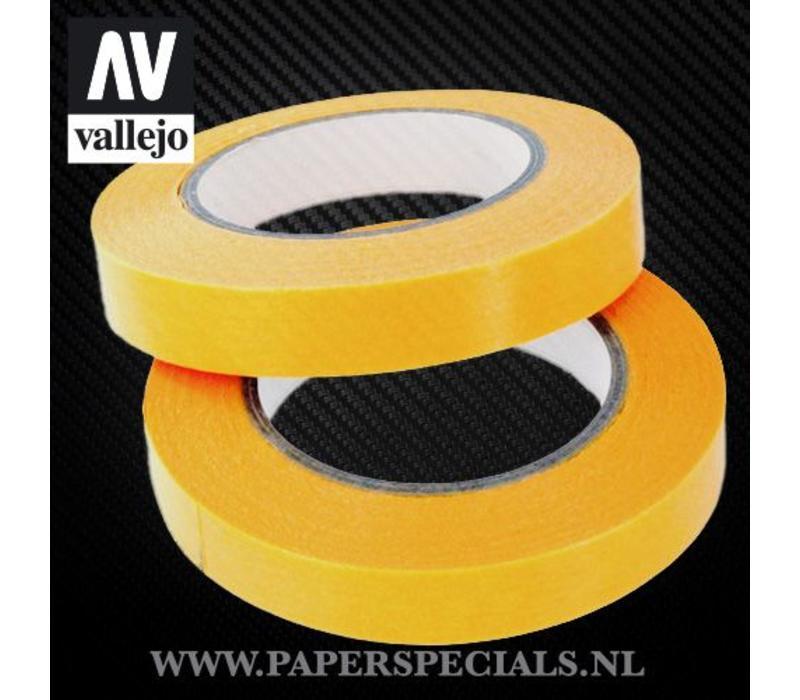 Vallejo - Precision Masking Tape 10mm - 2 rollen van 18 meter
