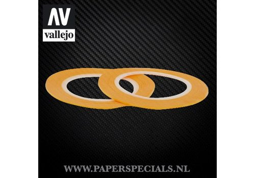Vallejo Vallejo - Precision Masking Tape 1mm - 2 rolls of 18 meter
