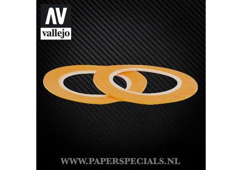 Vallejo Vallejo - Precision Masking Tape 1mm - 2 rolls of 18 meter