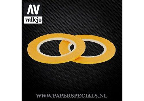 Vallejo Vallejo - Precision Masking Tape 2mm - 2 rollen van 18 meter