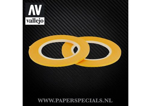 Vallejo Vallejo - Precision Masking Tape 2mm - 2 rolls of 18 meter