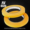 Vallejo Vallejo - Precision Masking Tape 6mm - 2 rolls of 18 meter