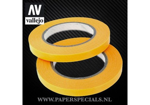 Vallejo Vallejo - Precision Masking Tape 6mm - 2 rolls of 18 meter