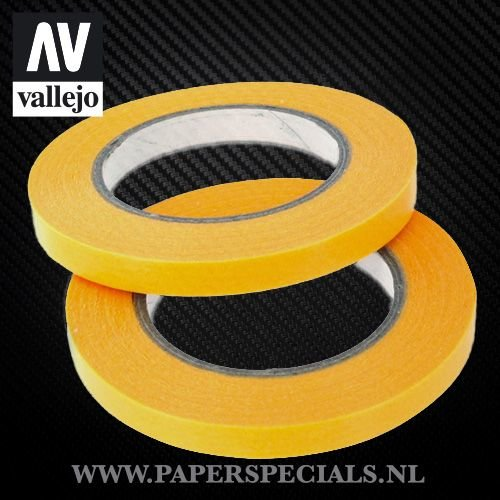 Vallejo - Precision Masking Tape 6mm - 2 rolls of 18 meter