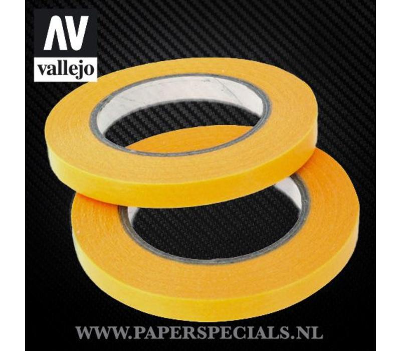 Vallejo - Precision Masking Tape 6mm - 2 rollen van 18 meter