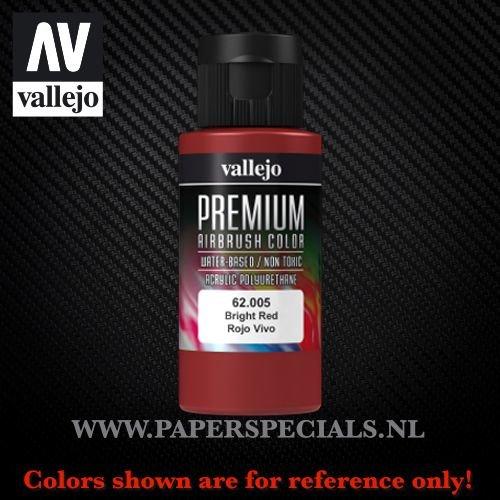 Vallejo - Premium RC Color 60ML - 62.005 Bright Red
