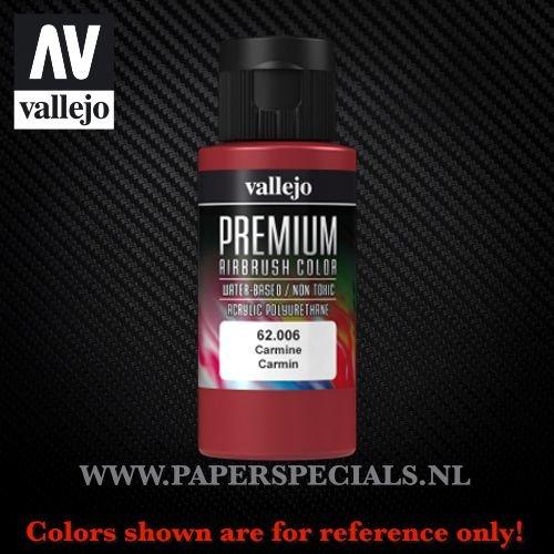 Vallejo - Premium RC Color 60ML - 62.006 Carmine
