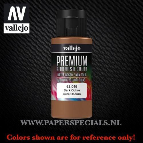 Vallejo - Premium RC Color 60ML - 62.016 Dark Ochre