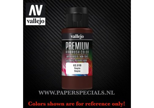 Vallejo Vallejo - Premium RC Color 60ML - 62.018 Sepia