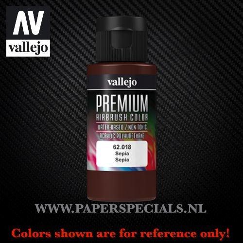Vallejo - Premium RC Color 60ML - 62.018 Sepia
