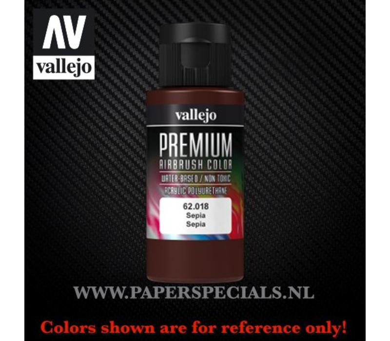 Vallejo - Premium RC Color 60ML - 62.018 Sepia