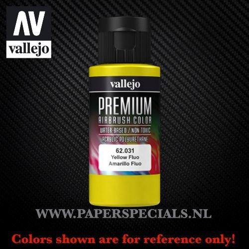 Vallejo - Premium RC Color 60ML - 62.031 Fluorescent Yellow