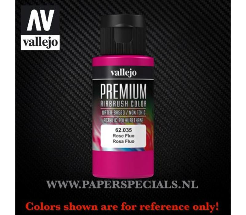 Vallejo - Premium RC Color 60ML - 62.035 Fluorescent Rose