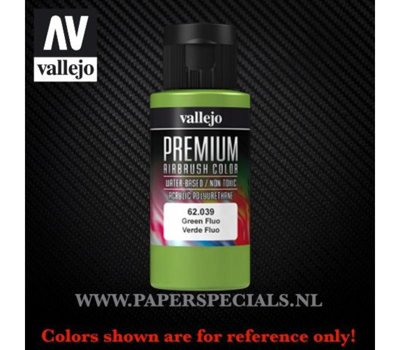 Vallejo - Premium RC Color 60ML - 62.039 Fluorescent Green