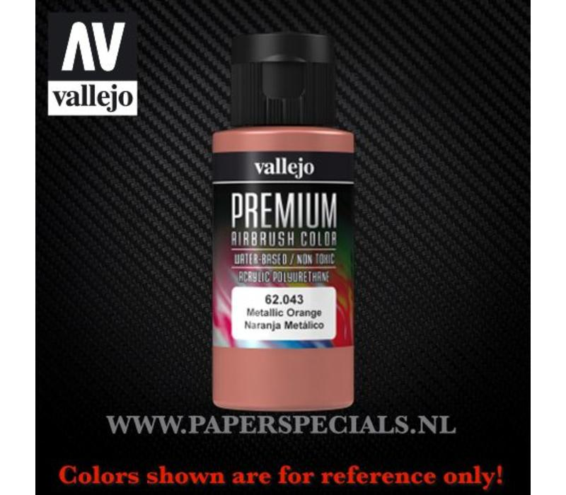 Vallejo - Premium RC Color 60ML - 62.043 Metallic Orange