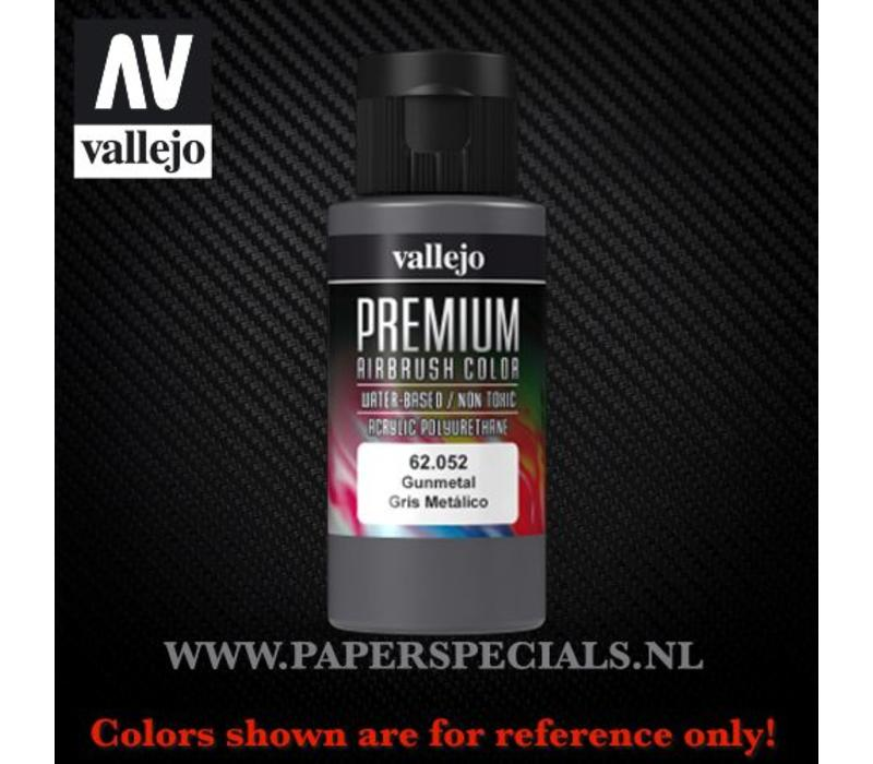 Vallejo - Premium RC Color 60ML - 62.052 Gunmetal