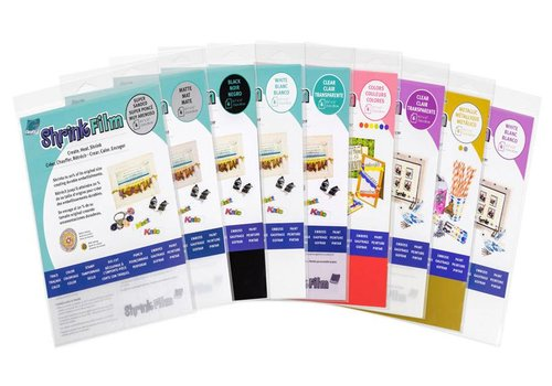 Grafix Grafix Shrink plastic - A4 - per 5 sheets